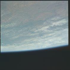 Apollo 17 Hasselblad image from film magazine 148/NN - Earth, LM Inspection, Orbital