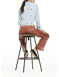 Shop Scotch & Soda Women's Embroidered Button Shirt, Multicolour (Combo A XL. Scotch Soda, A 17, Bar Stools, Buttons, Clothing, Shirts, Shopping, Women, Bar Stool Sports