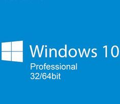 MICROSOFT WINDOWS 10 PROFESSIONAL PRO MULTI-LANGUAGE 3264 BIT KEY LICENZA