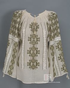 IA the Romanian Blouse. Here you can buy Romanian peasant blouses ie and folk costumes traditional clothes. Worldwide shipping for embroidered Romanian blouse Peasant Blouse, Blouse Dress, Boho, Bohemian Style, Ethnic Fashion, Womens Fashion, Folk Clothing, Folk Costume, Blouse Online