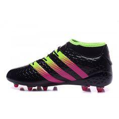 31122abe92 Adidas ACE - Chuteiras De Futebol Adidas ACE 16.1 Primeknit FG AG Preto  Pessego Boa