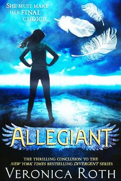 The official UK cover of 'Allegiant'.
