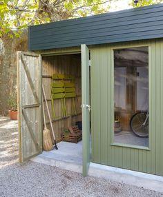Un abri de jardin modulable, Leroy Merlin