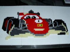 Cars Francesco hama beads by Memekan