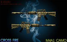 Модель оружия m4a1 camo для css
