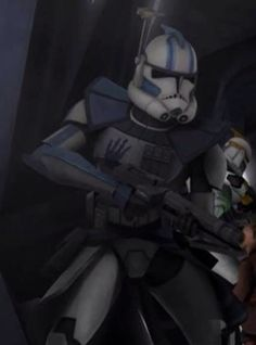 ARC Trooper Echo my third favorite clone, he fricken died in the cartoon series! WHY ECHO WHY!?!