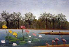 da cosa nasce cosa: Henri Rousseau