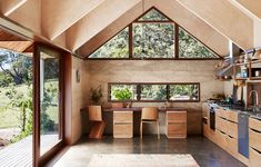The Design Files – A Serene, Handcrafted Home In Byron Bay. Photo – Caitlin Mills for The Design Files. Rammed Earth Homes, Earthy Home, Bungalow Renovation, Outdoor Bathrooms, The Design Files, Australian Homes, Little Houses, Tiny Houses, Inspired Homes