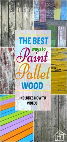love refinishing furniture and making pallet projects! These techniques are very useful. How To Videos includesI love refinishing furniture and making pallet projects! These techniques are very useful. How To Videos includes Painting On Pallet Wood, Distressed Painting, Pallet Art, Pallet Ideas, Painted Wood Pallets, How To Paint Wooden Crates, Wood Pallet Fence, Best Paint For Wood, Wooden Pallet Projects