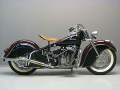 Stunning 1946 Indian Chief. Needs a bit of roadrash on it to make it perfect though.