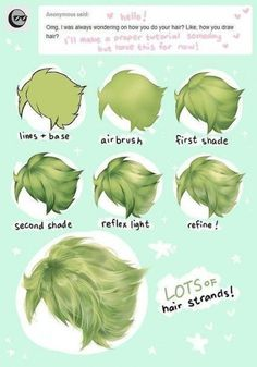 art tips hair * art tips ; art tips drawing ; art tips and tricks ; art tips anatomy ; art tips for beginners ; art tips hair ; art tips eyes ; art tips painting Digital Painting Tutorials, Digital Art Tutorial, Art Tutorials, Digital Paintings, Art Reference Poses, Drawing Reference, Hair Reference, Design Reference, Drawing Techniques
