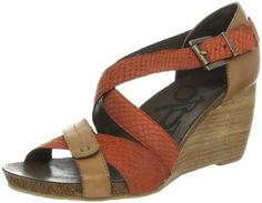 OTBT Womens Landcaster Wedge SandalMandarin10 M US * More info could be found at the image url.