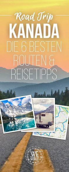 Road Trip Kanada Routen: 6 Blogger verraten dir die besten Kanada Routen, Rundreise Tipps, Sehenswürdigkeiten, Routen und Highlights für Westen und Osten. #kanada #nordamerika #roadtrip