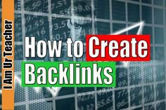 In this blog you will learn some on how to create backlinks. As creating dofollow backlinks is not that much easy. You only need high quality backlinks to boost your seo performance.