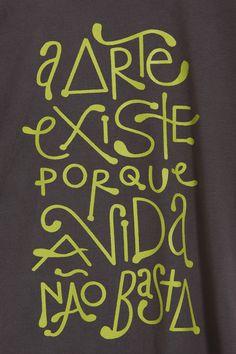 Camiseta Existência da Arte
