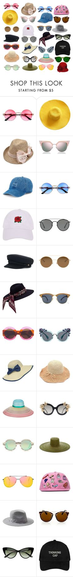 """""""Cool Cuke's"""" by cassandra-beauchamp on Polyvore featuring Fendi, SO, Armitage Avenue, Ray-Ban, Mykita, Gucci, Miu Miu, WithChic, Missoni and Alice + Olivia"""