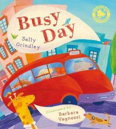 A group of friends set off for a day at the seaside. On the way they encounter lots of vehicles and other animals, all delighted pictured by Barbara Vignozzi. So much for tiny tots to spot! Published by Bloomsbury in Friends Set, Group Of Friends, Bloomsbury, Children's Books, Sally, Seaside, Vehicles, Pictures, Animals