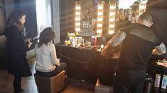 Getthebuzz716 behind the scenes Having  a blast at HiSpeedRetreat by @Nylon @Gansevoort #hispeedretreat at Gansevoort 18 Ninth ave  #nylon #gansevoort #nyfw2015 #fashionmaniac #getthebuzz716 #meatpacking #tamoralee #millionsandmilliins #germany #wwd #fashionweek #spa #bloggers #nylonshop  #mercedesbenzfashionweek