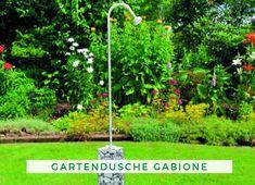 Gabione Dusche: Die Terrando Gartendusche Gabione ist die perfekte Ergänzung zum Swimmingpool oder zur Wasserversorgung im Garten. Ein Wasseranschluss für handelsübliche Schlauchstecksysteme ist bereits integriert. Water Supply, Good To Know, Home And Garden