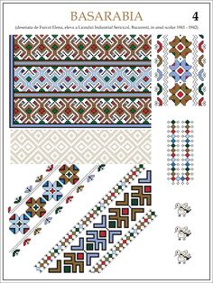 eleva - ie Basarabia (JPEG Image, 1200 × 1600 pixels) — Масштабоване Cross Stitch Designs, Cross Stitch Patterns, Palestinian Embroidery, Embroidery Motifs, Color Psychology, Handmade Bags, Cross Stitching, Beading Patterns, Pixel Art