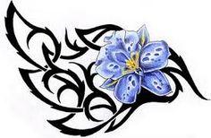 """Képtalálat a következőre: """"hawaiianflower  tribal tattoos"""""""