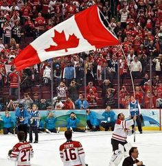 1. Ice Hockey - Top 10 Most Popular Sports in Canada  http://www.sportyghost.com/top-10-most-popular-sports-in-canada/