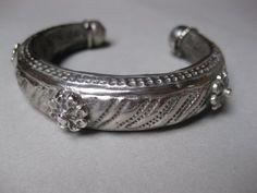 A Saudi Arabian Silver Child's Bracelet. Khaneikey.com