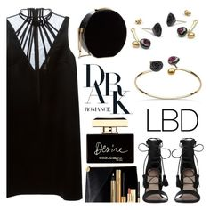 """""""Little Black Dress"""" by littlehjewelry ❤ liked on Polyvore featuring Christopher Kane, Zimmermann, Elie Saab, Yves Saint Laurent, Dolce&Gabbana, LBD, contestentry, pearljewelry and littlehjewelry"""