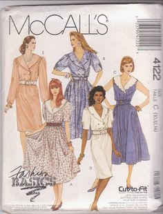 Vintage 1980s sewing pattern for double by beththebooklady on Etsy, $8.99