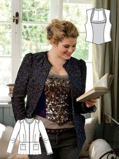 Everyday Equestrian: 8 New Plus Size Patterns – Sewing Blog   BurdaStyle.com