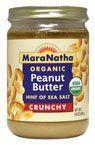 MaraNatha Organic Peanut Butter Crunchy -- 16 oz - http://goodvibeorganics.com/maranatha-organic-peanut-butter-crunchy-16-oz/