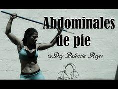 Abdominales de pie - Ejercicios para la cintura - Hit - ( Rutina 276 ) - Dey Palencia Reyes - YouTube