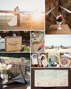 Cute Wedding Ideas Aviation Airplane Pilot Theme