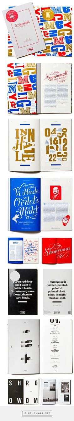 Printing Friends Magazine on Behance - created via https://pinthemall.net