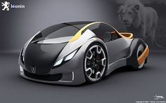 Peugeot Leonin, Leonin, Concept cars, electric cars, Peugeot, futuristic car, futuristic design, eco car, green car