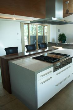 . Metal Countertops, Cleaning Granite Counters, Bathroom Countertops, Quartz Countertops, Wood Planks, Cupboard, House, Island, Counter Tops
