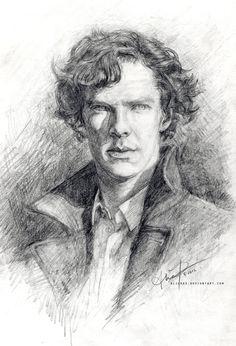 Sherlock I by `alicexz on deviantART