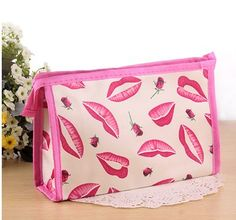 New Cute Women Makeup Bags Tote Ourdoor Travel Storage Washing Bags Multifunction Nylon Cosmetic Bag Pochette Maquillage
