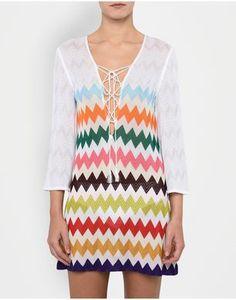 Women - Short Beach Dresses Women on Missoni Online Store