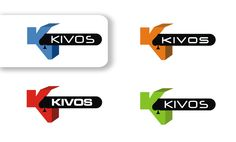 by Argiro Stavrakou, year 2010, KIVOS logo versions. KIVOS is a software CANADA company. (KIVOS means Cube in Greek and it designs casino software)