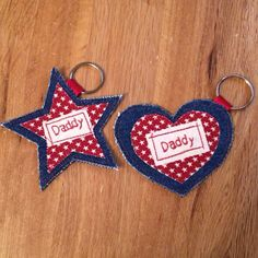 Personalised Keyrings https://www.facebook.com/needleandpin