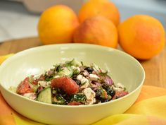 Blood Orange, Cucumber and Feta Salad recipe from The Kitchen via Food Network