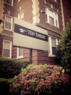 Ten Tables in Cambridge, MA