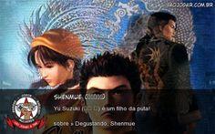 Shenmue (シェンムー) - Yu Suzuki (鈴木 裕) é um filho da puta!