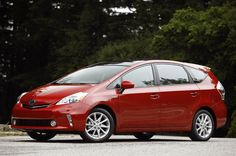 """Prius """"V"""" for Versatile. Mom wants this for her next vehicle. We will see, not sure if we need two Prii. If the price of gas goes up again, yes we will get it."""