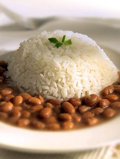 Rice & beans, perfect combination!
