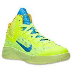 02d63f1e02ba Boys  Grade School Nike Zoom Hyperfuse 2013 Basketball Shoes