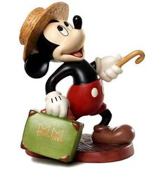 "Mr. Mouse Takes a Trip - Mickey Mouse - ""A Traveler's Tail"" Numbered Limited Edition 1,500 (Available exclusively to retailers outside North America)"