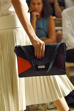 Celine color block bag