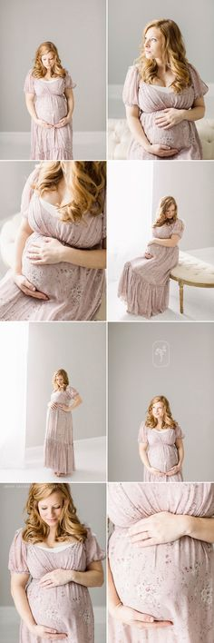 Nashville Maternity Photographer | Kasey's studio maternity session Maternity Photographer, Maternity Session, Family Photographer, Young Family, Sweater Shirt, Nashville, One Shoulder Wedding Dress, New Baby Products, Hair Makeup